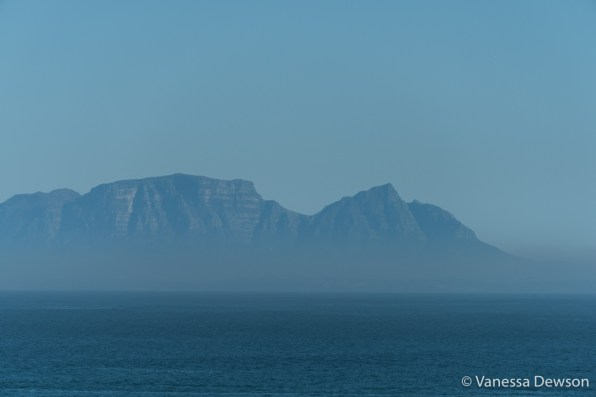 Devil's Peak from Gordon's Bay