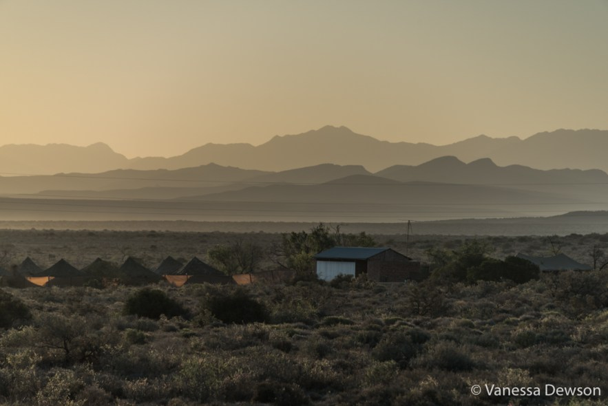 Sunset in the Karoo