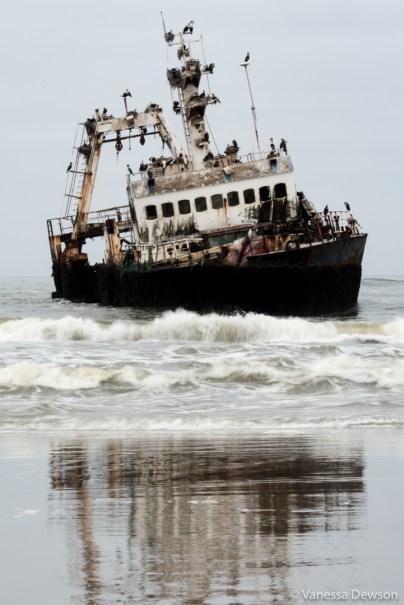 Shipwreck portrait