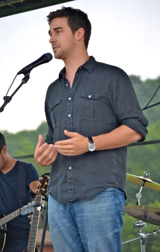 Our own Matt Williams hosted most of the concert series this summer.