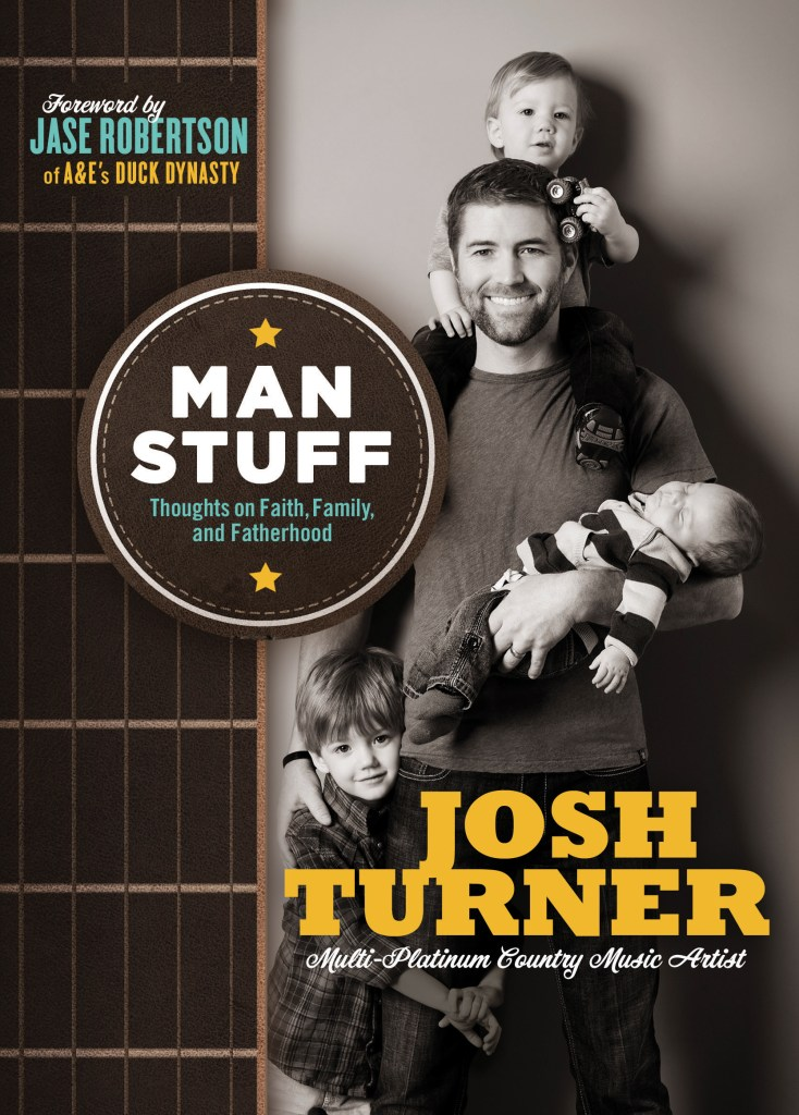 Josh Turner Man Stuff book cover art