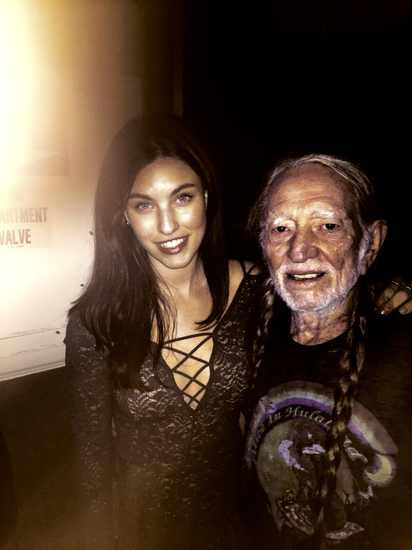 Rainey Qualley Willie Nelson