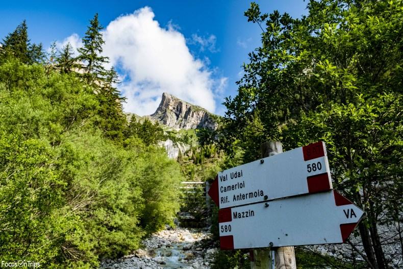 Val Udai Mazzin trekking