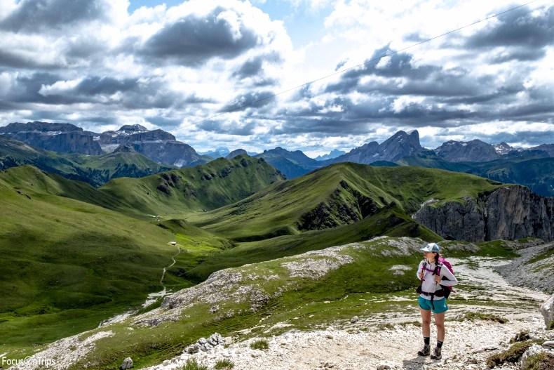 Passo de Dona trekking Catinaccio