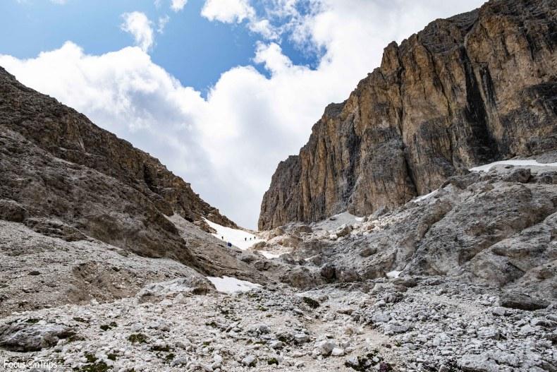 Passo Antermoia trekking Catinaccio