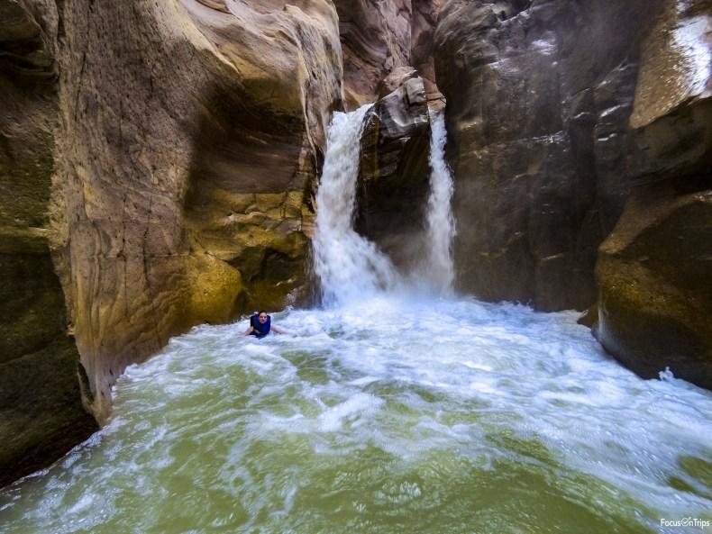 Cascata Wadi Mujib canyoning