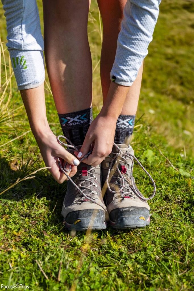 calzini da trekking