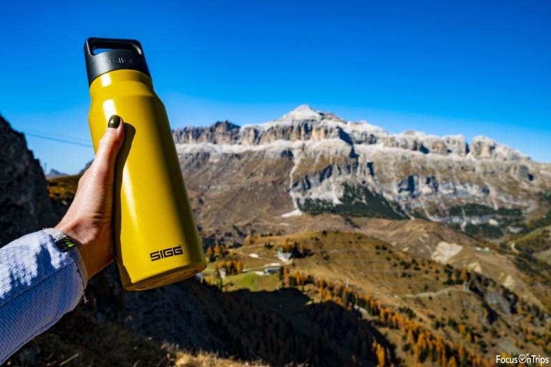 borraccia trekking Sigg Dolomiti