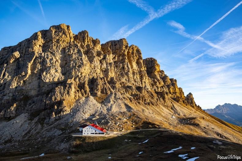 Denti di terrarossa - rifugio Alpe di Tires