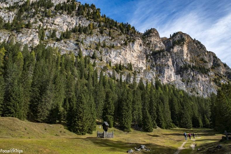 trekking rifugio Bergamo Val Ciamin