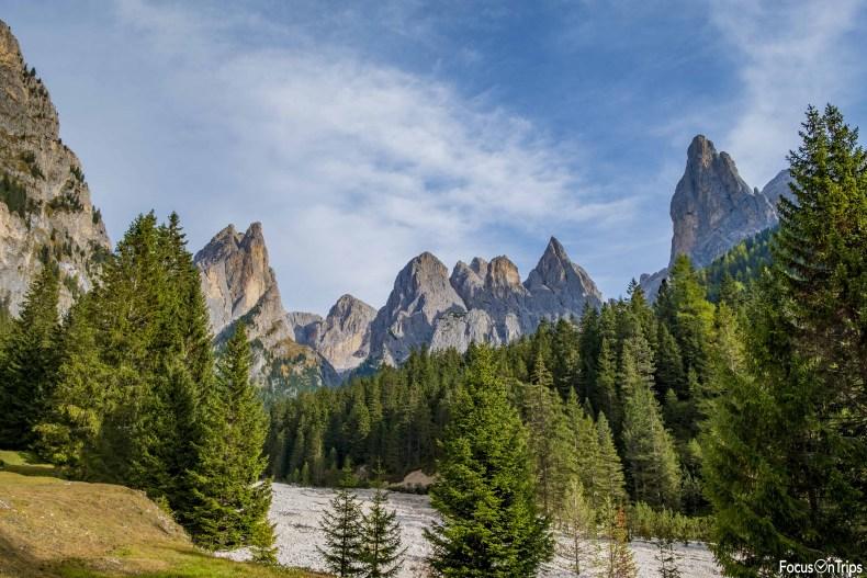 trekking catinaccio-rifugio Alpe di Tires-Val Ciamin