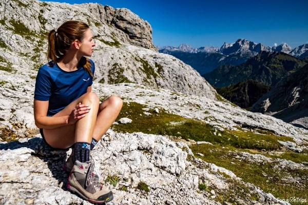 pulire scarponi trekking Dolomite