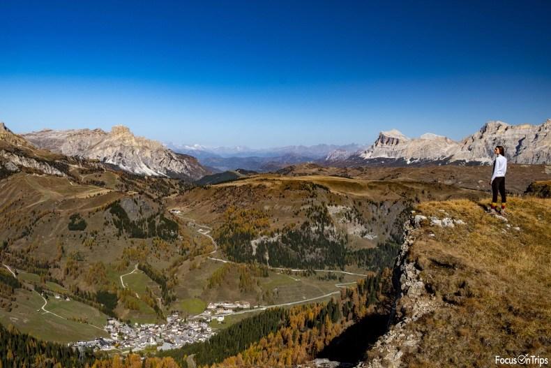 Arabba Val Badia trekking Passo Fedaia