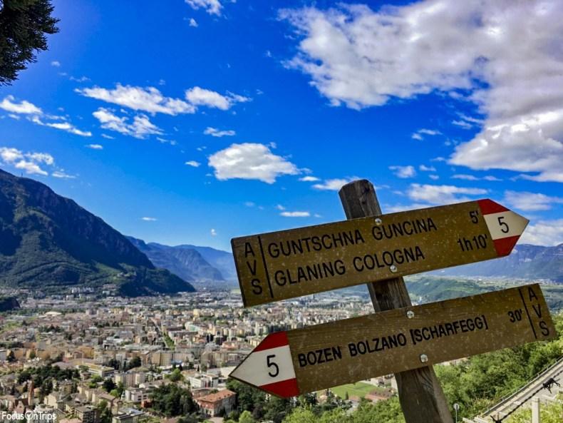 passeggiata del Guncina Bolzano