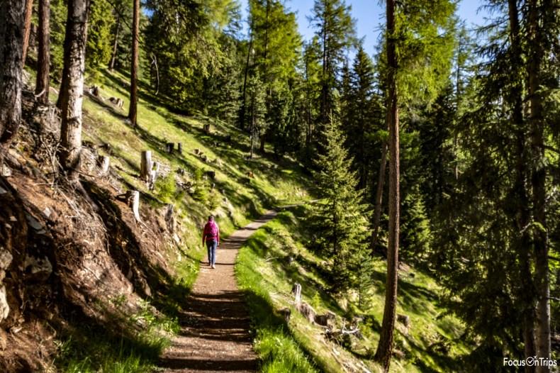 seceda trekking da praplan