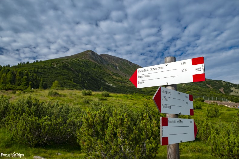 sentiero 502 Corno Nero