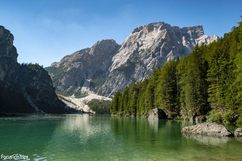 lago di braies alta via 1 dolomiti