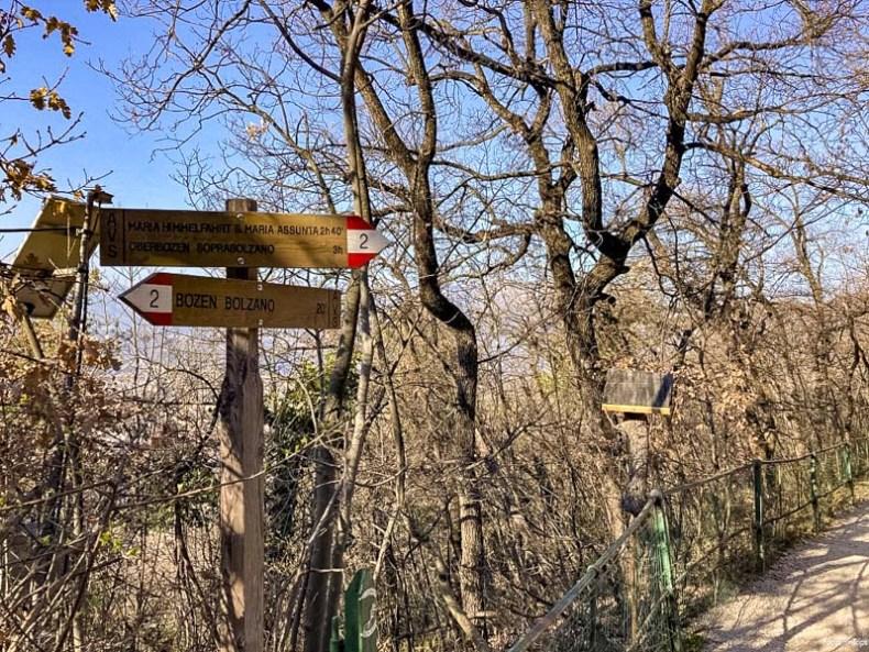 escursione bolzano sant'osvaldo