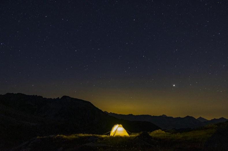 tenda alta via valle d'aosta