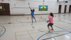 Who can shoot the ball first??