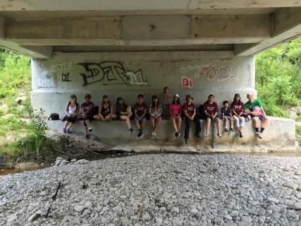 Picture under the bridge!