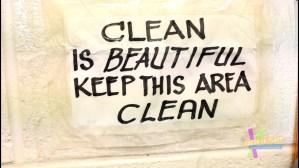 Clean is beautiful!