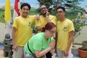FOY Staff (L-R) [Back]: Curtis Bautista (Vanier), Alejandro Pena (Vanier), & JP Abutan (Vanier)