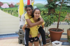 FOY Staff (L-R): Shenita Rambaran (Vanier) & Czarina Galario (Marshall)