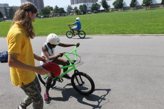 Who needs training wheels when you have counselors.