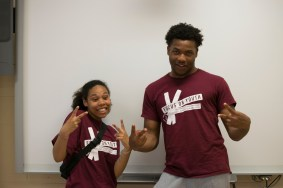 FOY Staff: Niya (SMT), and Shamar (SMT)
