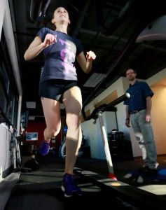 Runner training at Focus PT with Burke Selbst, PT