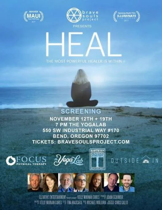 Heal Documentary November 12 and 19, 2017