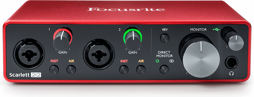 Image result for focusrite scarlett 2i2