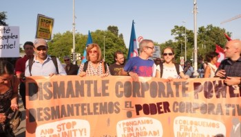 Mass mobilisation in Geneva against corporate impunity