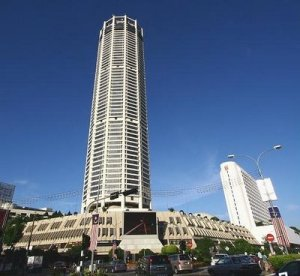 Tower in Komtar