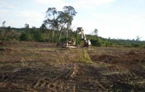 ilitary supervise capture & destruction of of farm and forest land in Viel Veng Pursat Cambodia