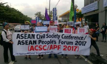 """Philippine CSOs to ASEAN Chair: """"Be the change you want to see; Partner with the People for Just, Equitable, & Humane SEA"""""""