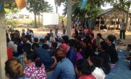 Cambodian activists and community members mark International Women's Day 2017