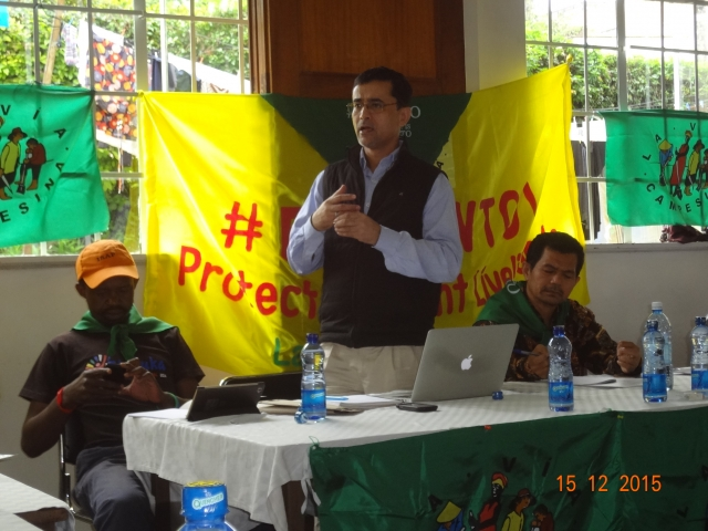 #EndWTO: Farmers' call in Nairobi during MC10