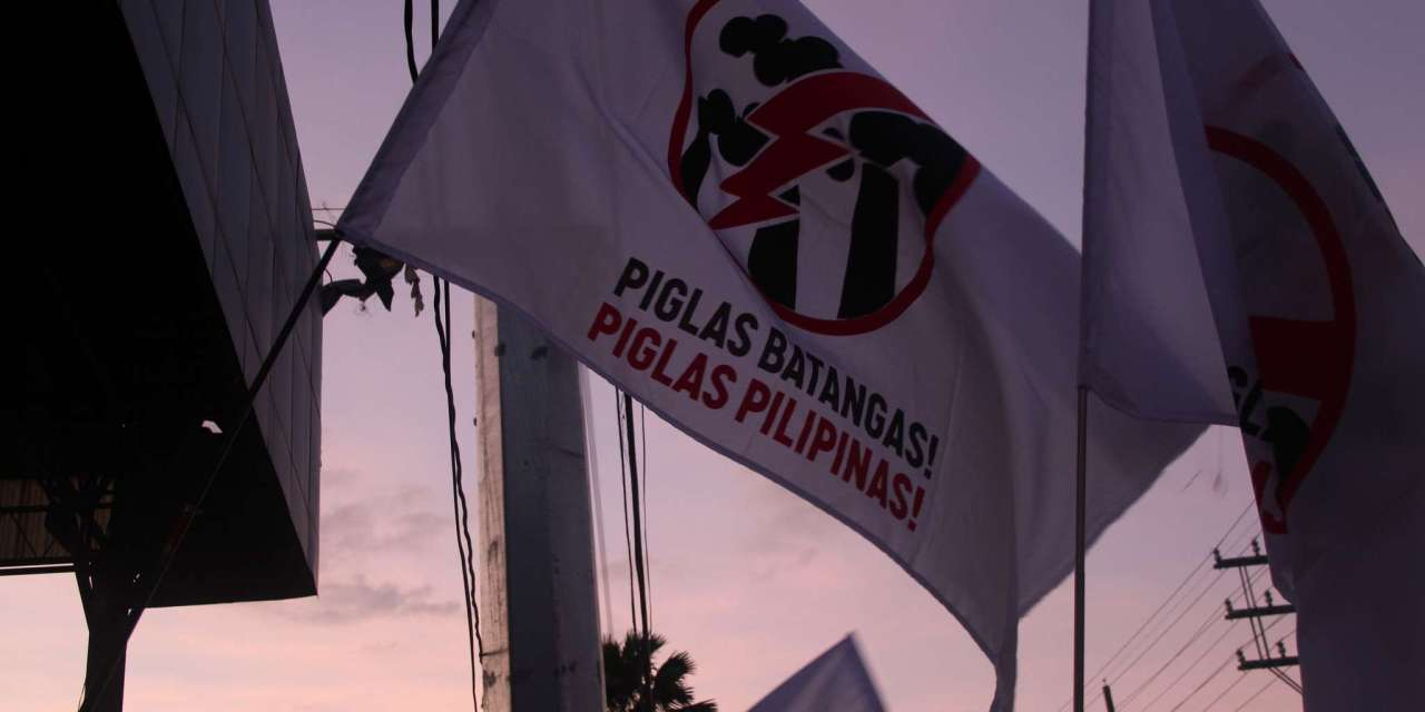 Breaking Free from Coal & Other Forms of Dirty Energy: The Struggle of the People of Batangas, Philippines