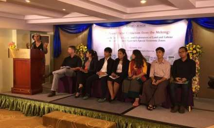 "Press Release: Report Launch – ""Special Economic Zones (SEZs) and Value Extraction from the Mekong: A Case Study on the Control and Exploitation of Land and Labour in Cambodia and Myanmar SEZs"""