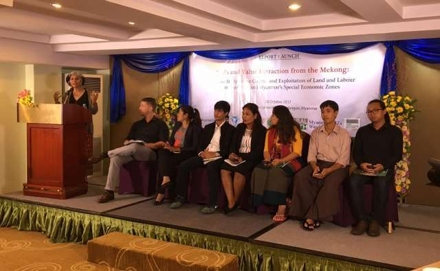"""Press Release: Report Launch – """"Special Economic Zones (SEZs) and Value Extraction from the Mekong: A Case Study on the Control and Exploitation of Land and Labour in Cambodia and Myanmar SEZs"""""""