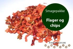 Bland-selv chips og flager - Foderhulen.dk - Smagepakke