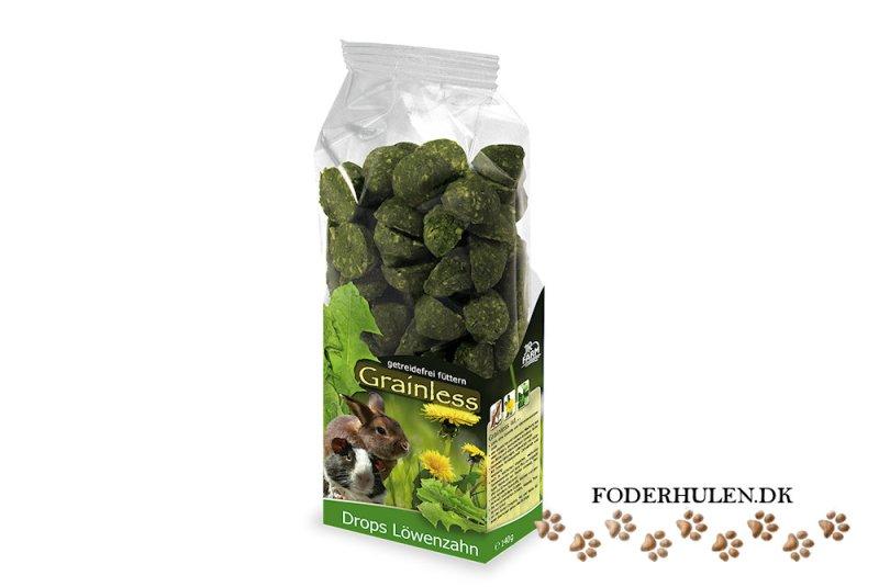 JR Farm Grainless Drops med mælkebøtte - Foderhulen.dk