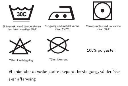 Vaskeanvisning - Foderhulen.dk