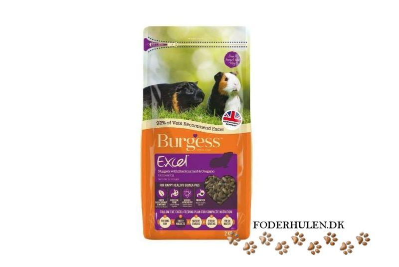 Burgess Excel til Marsvin med solbær og oreagano