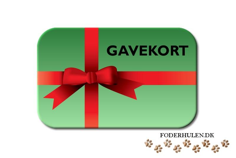 Gavekort - Foderhulen.dk