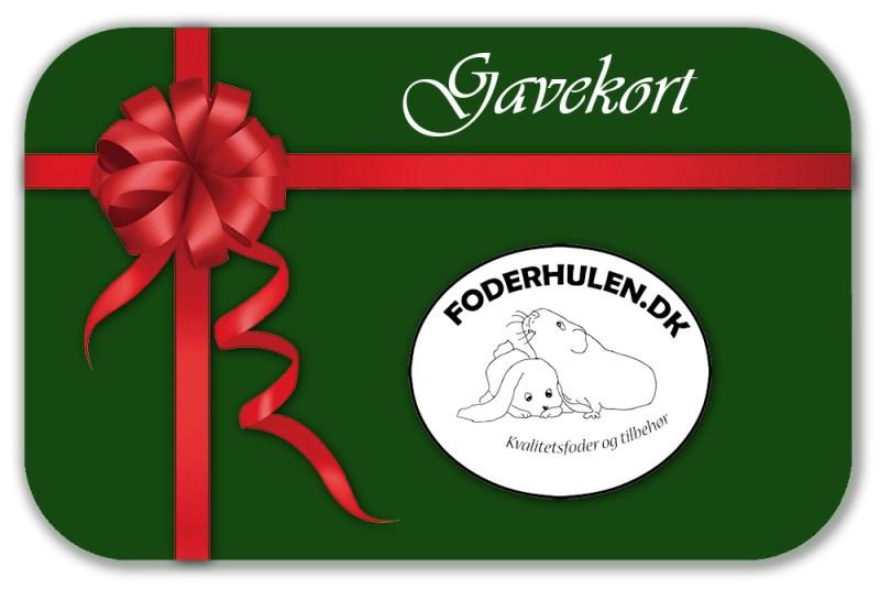 Gavekort fra Foderhulen - Foderhulen.dk