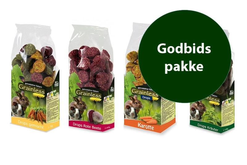 Godbidspakke - Foderhulen.dk