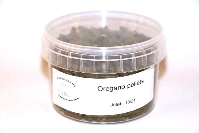 Oregano pellets - Foderhulen.dk